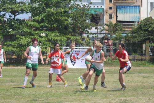 Action from the 1st All Vietnam Ladies Championship