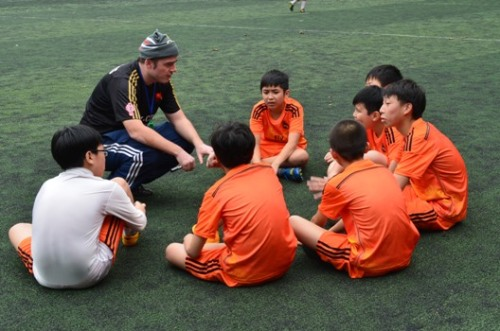 Team talk - VAS Hanoi U13s