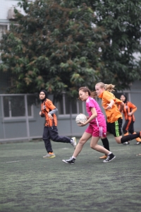 Action from HIS Girls v VAS Hanoi Girls