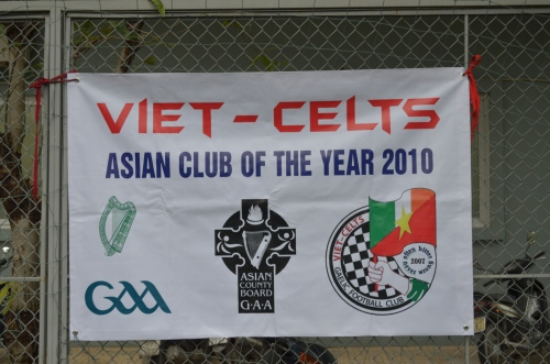 Asian Club of the Year 2010 - Won because of the Viet Celts Schools Program