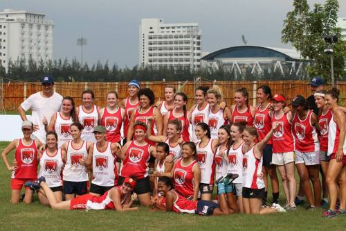 VC Ladies amongst the two teams in the historic AFL Women's game