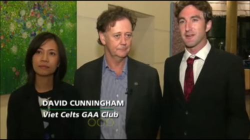 RTE Interview with Thanh Nguyen, Colm Ross and David Cunningham